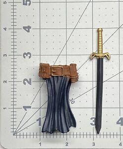 """1/12 scale fodder Marvel Legends 6"""" figure Avengers Black Knight belt sword set"""