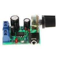 1PC Board Amplifier Mono, LM386 Mini Audio Power Amplifier Board DC 3V~12V