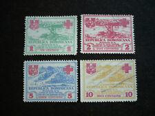 Stamps - Dominican Republic - Scott# RA1-RA4