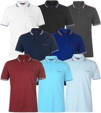✅👕 PIERRE CARDIN Herren Polo Shirt Freizeit S-4XL Sommer Hemd TShirt TIPPED NEU