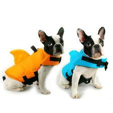 Dog Life Vest Summer Shark Pet Life Jacket Pets Dog Clothes Safety Swimwear
