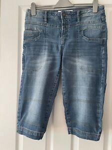 John Baner Womens Long Denim Shorts Size 16