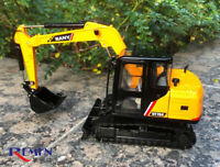 Sany 1/35 Sy75C-9 Die-Casting Excavator Model Construction Vehicle CollectionCar