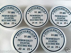A1 Kanthal Resistance Wire 25m Lengths on a Reel foam cutting pottery etc