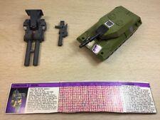Transformers Original G1 1986 Combaticon Brawl Complete w/ Card Loose