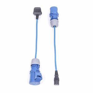 Marten® PAT Test Adapter Set - 230v 16amp Plug and Socket Adapter Set