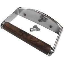 Toilet Roll Holder Locking Chrome Pack Of 1