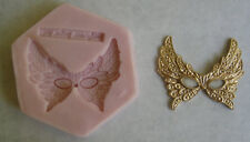 Venetian Mask Silicone Mold  for Cake Decorating, Sugar Flower, Fondant