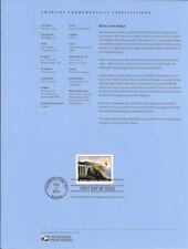 #1004 $18.30 Bixby Creek  Bridge Stamp #4439 Souvenir Page