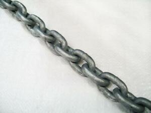 Galvanised Short Link Anchor Chain 8MM (Mooring DIN766 Boat Yacht)