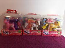 G3 My Little Pony Lot Sparklesnap Silly Sunshine  Super-long Hair New