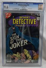 Detective Comics (1978) #476 CGC 9.6 white pages - Batman Sign of the Joker!