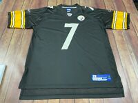 Ben Roethlisberger Pittsburgh Steelers Reebok NFL Football Jersey - XL