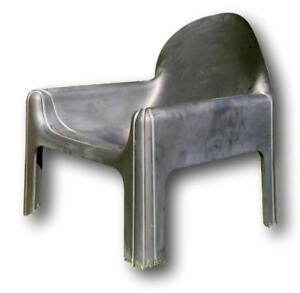 Armchair Chaise Lounger Chairs kartell 4794 Design gae aulenti 1975 Chair