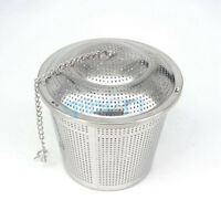 304 Stainless Steel Hop Steeper Herb Ball Dry Hopping Filter Home Brew 100mm