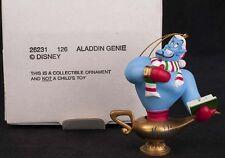 Grolier Disney Aladdin Genie Caroling Magic Lamp Christmas Ornament 26231126