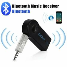 Wireless Bluetooth Receiver 3.5mm Stereo Audio Music Car Adapter Transmitter D7