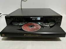 New ListingVintage Sony Cdp-Ce 345 5 Compact Disc Audio Cd Player Changer Tested Working