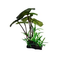 Silk Fabric & Plastic Aquarium Plant With A Realistic Look
