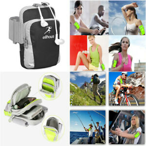 Sport Running Jogging Gym Nylon Armband Arm Band Holder Arm Bag Pouch For Phone