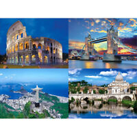 1000pcs Jigsaw Puzzle Landscape Animals Adults Kids Early Educational Toy DIY--