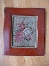 Victorian Micro Beaded Purse Bead Work Framed ~ Fabulous