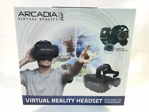 NEW ARCADIA VIRTUAL REALITY HEADSET 360 WORKS WITH SMARTPHONES