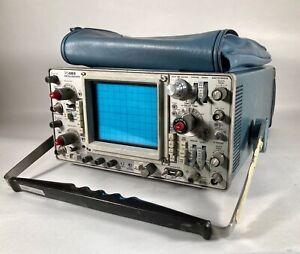 Tektronix 465 Oscilloscope With Manuals
