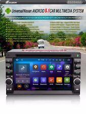 AUTORADIO 2 DIN GPS UNIVERSALE ANDROID 5.1 QUADCORE WIFI 3G USB SD MP3 NO DOGANA
