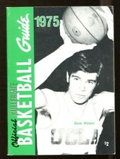 1975 Official NCAA Collegiate Basketball Guide Dave Meyers UCLA 44261