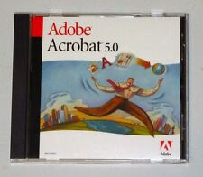 Adobe Acrobat 5.0 (Retail) For Windows Version 5.0.5 - Perfect - FREE Shipping!
