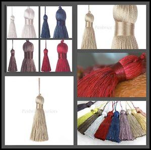 Key Tassel Jones Shard Cotton Tassle for Fabric Sewing Trim Upholstery Trimming