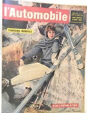 L AUTOMOBILE 14 gennaio 1962 Catene Boneschi Nautilus Sopraelevata di Genova di