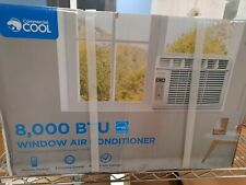 Cool-Living 8,000 BTU 115-Volt Window Air Conditioner w/Digital Display & Remote
