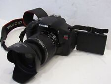 MINT Canon EOS Rebel T3i / 600D 18.0 MP SLR Body With 18-55mm STM LENS!