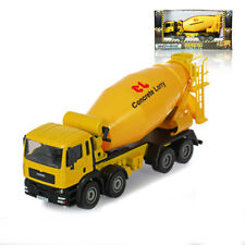 KDW 1:50 O Scale Diecast Cement Mixer Truck Construction Vehicle Cars Model Toys