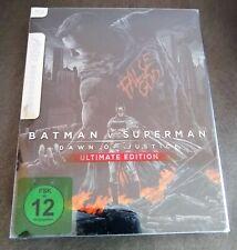 BATMAN V SUPERMAN Dawn of Justice Blu-Ray Limited Edition MONDO STEELBOOK