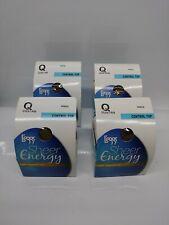 4 Pair Leggs Sheer Energy Vitality Pantyhose Control Top Queen Size Suntan 90652