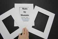 Picture Frame Mats Custom Order 30 mats acid free white
