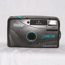 Vivitar Spree Free Motor/Auto Flash  35mm Point and Shoot Film Camera