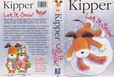 KIPPER LET IT SNOW VHS VIDEO PAL~ A RARE FIND IN EXCELLENT CONDITION