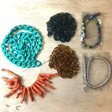 Jewelry Making Chain Destash - Cord Destash - Acrylic Chain Destash