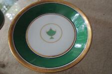 """~RICHARD GINORI ~ITALY GREEN IMPERO CHINA 4 3/8"""" SMALL DISH beautiful"""