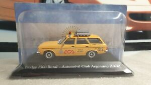 ALTAYA /IXO -  1978 DODGE 1500 RURAL  - 1/43 SCALE MODEL - ARGENTINA COLLECTION