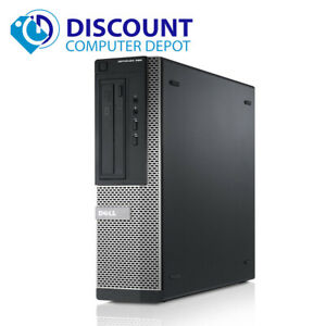 Dell Desktop Computer Windows 10 Pro PC Core i3 3.10GHz 4GB 128GB SSD HDMI Wifi