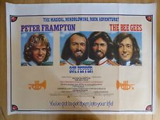 SGT.PEPPER'S LONELY HEARTS CLUB BAND (1978) - original UK quad film/movie poster