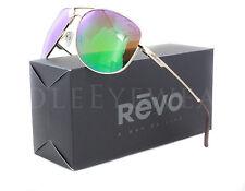 NEW Revo 3087 04 GN Windspeed Gold Green Water Sunglasses