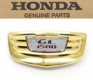 New Front Fender Emblem 90-00 GL1500 Goldwing SE Honda 1500 Badge #B37