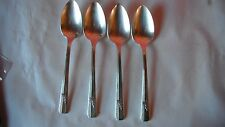lot of 4 Oneida Prestige Grenoble 1938,teaspoons,silver plate,as a group