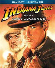INDIANA JONES AND THE LAST CRUSADE (Blu-ray, 2013, Digital Copy) NEW